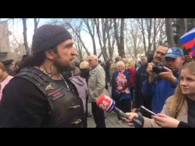 В Севастополе прошла акция, посвящённая трагическим событиям в Санкт-Петербурге.