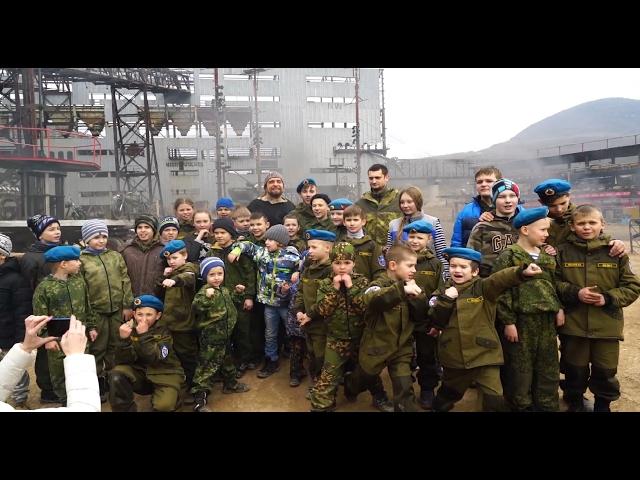 Сегодня Севастопольские дети приступили к созданию парка Патриот