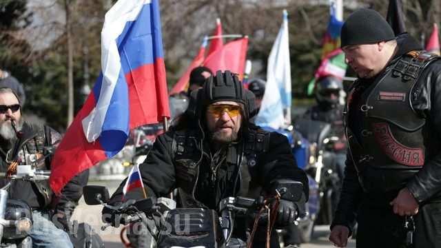 «Ночные волки» требуют прекратить геноцид Донбасса