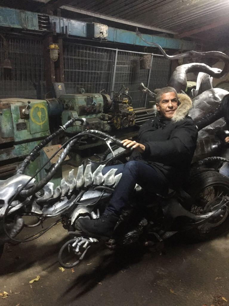 Мотоцикл для Сами Насери