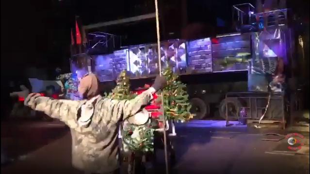 Подготовка к новогодним ёлкам 2018 в Байк-Центре