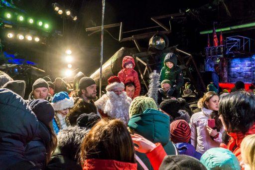 В Байк-Центре начались новогодние ёлки