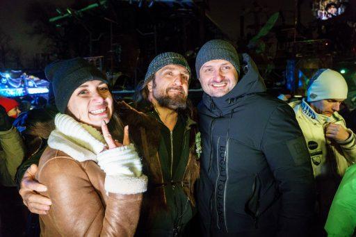 Среди моих дорогих гостей на Новогодней Сказке побывал мой друг Эдгар Запашный