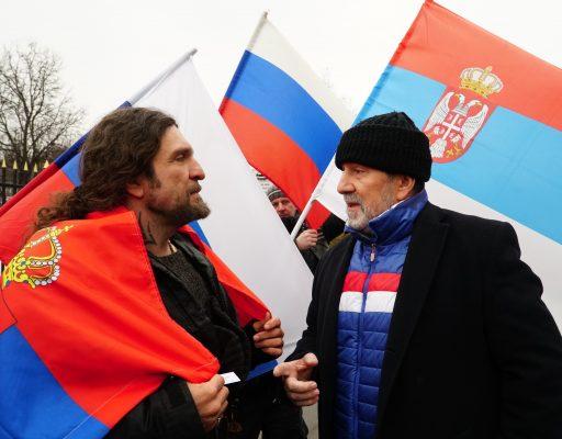Мы благодарим всех, кто присоединился к нашему порыву поддержать братскую Сербию