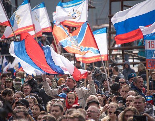15 лучших фото автомотопробега в Севастополе в честь Русской весны