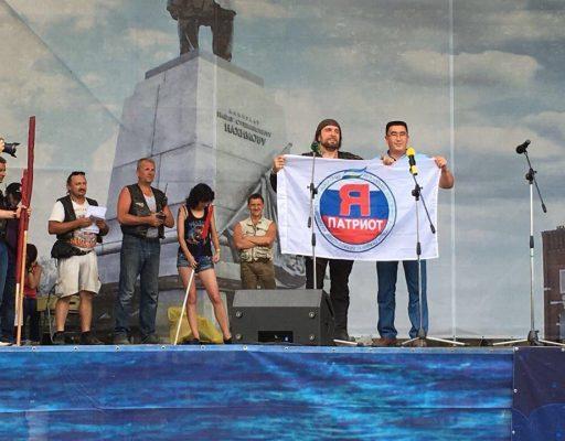Руководитель башкирской организации «Я патриот» Руслан Зарипов посетил байк-шоу «Пятая империя» в Севастополе (Горобзор)