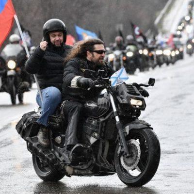 Глава ДНР поучаствовал в пробеге «Ночных волков» в Крыму